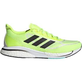 adidas Supernova + Shoes Men solar yellow/core black/clear aqua